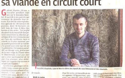 Parution dans le journal La Provence – Octobre 2017